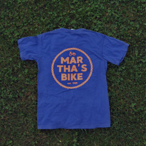 martha's mechanic tee (navy)