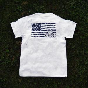 americana tee (white)