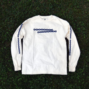 bike chain long-sleeve (cream)