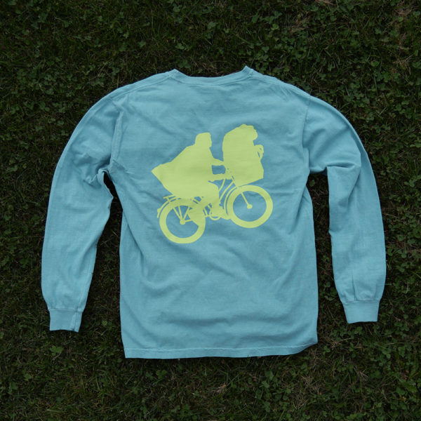 green bike long-sleeve