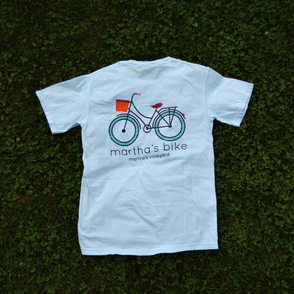 martha's bike t-shirt
