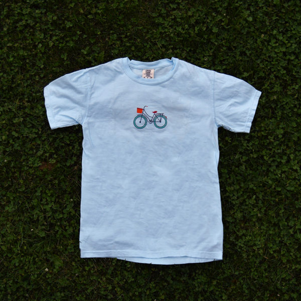 martha's bike t-shirt (front)